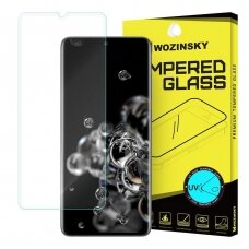 Wozinsky Tempered Glass UV screen protector 9H for Samsung Galaxy S20 Ultra (in-display fingerprint sensor friendly) - without glue and LED lamp (SAS20UL)