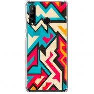 "xiaomi redmi note 8t silikoonist telefonikorpus ainulaadse disainiga, 1,0 mm  ""u-case Airskin Pattern 7 design"""