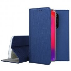 xiaomi mi 9t Eco leather flip case Mocco Smart Magnet blue