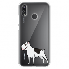 "xiaomi mi a2 lite (redmi 6 pro) silicone phone case with unique design 1.0 mm ""u-case Airskin Doggo 3 design"""