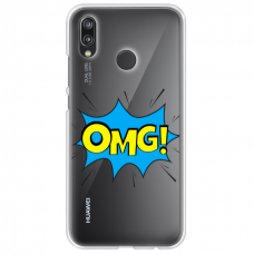 "xiaomi mi a2 lite (redmi 6 pro) silicone phone case with unique design 1.0 mm ""u-case Airskin OMG design"""