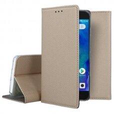 xiaomi redmi go Eco leather flip case Mocco Smart Magnet gold