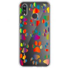"xiaomi redmi note 7 silicone phone case with unique design 1.0 mm ""u-case Airskin PAW design"""