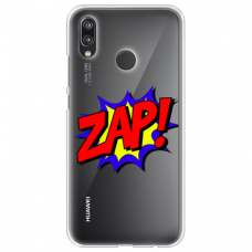 """xiaomi redmi note 7 silicone phone case with unique design 1.0 mm """"u-case Airskin ZAP design"""""""