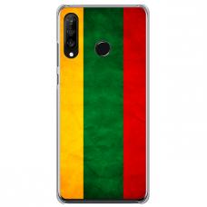 "xiaomi redmi note 8 silicone phone case with unique design 1.0 mm ""u-case Airskin Lietuva design"""